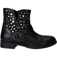 Sapatos Rapariga Botas baixas MTNG 47843 Negro