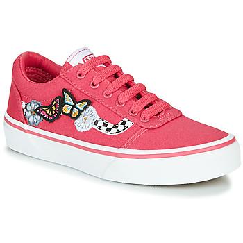 Sapatos Rapariga Sapatilhas Vans WARD Rosa