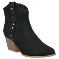 Sapatos Mulher Botins MTNG 58096 Noir