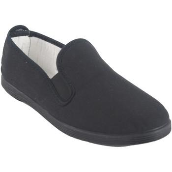 Sapatos Homem Slip on Bienve 102 Negro