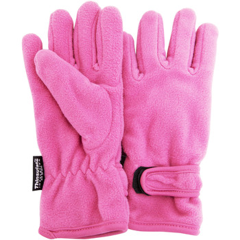 Acessórios Rapariga Luvas Floso  Pink