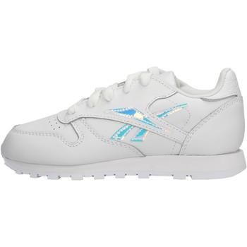 Sapatos Rapaz Sapatilhas Reebok Sport - Classic lth bco/arg EG5957 BIANCO