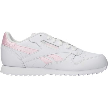 Sapatos Rapariga Sapatilhas Reebok Sport - Classic lth bco/rosa EG6001 BIANCO