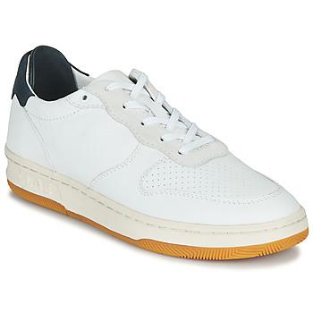 Sapatos Sapatilhas Claé MALONE Branco / Azul