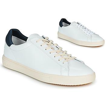 Sapatos Sapatilhas Clae BRADLEY Branco / Azul