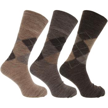 Acessórios Homem Meias Universal Textiles  Sombras de Brown