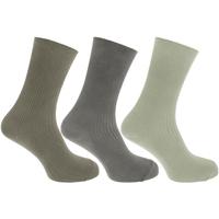 Acessórios Homem Meias Universal Textiles  Verde/Cinza