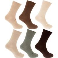 Acessórios Homem Meias Universal Textiles  Azeitona/Beige/Creme
