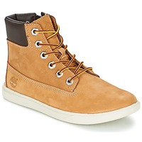 Sapatos Criança Botas baixas Timberland GROVETON 6IN LACE WITH SIDE ZIP Trigo