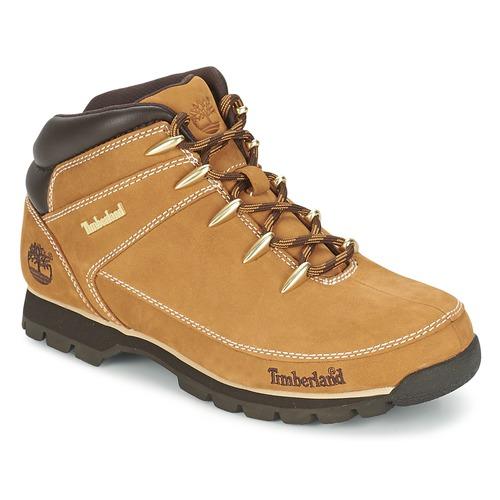 Sapatos Homem Botas baixas Timberland EURO SPRINT HIKER Bege