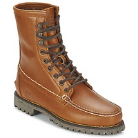 Sapatos Homem Botas baixas Timberland AUTHENTICS 8 IN RUGGED HANDSEWN Earth / Tijolo