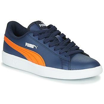 Sapatos Criança Sapatilhas Puma SMASH JR ME Marinho