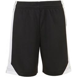 Textil Criança Shorts / Bermudas Sols 01720 Preto/branco