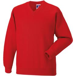 Textil Criança Sweats Jerzees Schoolgear 272B Vermelho Brilhante