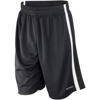 Textil Homem Shorts / Bermudas Spiro S279M Preto/branco