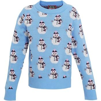 Textil Rapariga Sweats Christmas Shop CS027 Azul claro