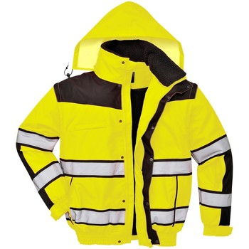 Textil Homem Corta vento Portwest PW332 Amarelo/ Negro