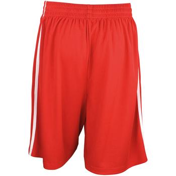 Textil Homem Shorts / Bermudas Spiro S279M Vermelho/branco