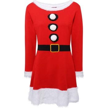 Textil Mulher Vestidos curtos Christmas Shop CS039 Vermelho