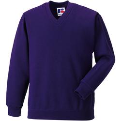 Textil Criança Sweats Jerzees Schoolgear 272B Púrpura
