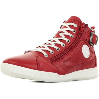Sapatos Mulher Sapatilhas de cano-alto Pataugas Palme F2E Vermelho