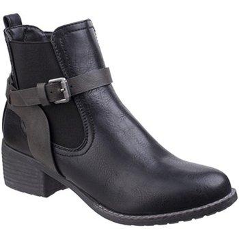 Sapatos Mulher Botas baixas Divaz  Preto
