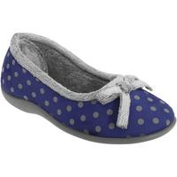 Sapatos Mulher Chinelos Sleepers Polka Marinha