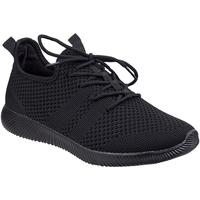 Sapatos Mulher Sapatilhas Divaz  Preto