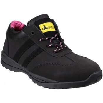 Sapatos Mulher Sapatilhas Amblers  Preto