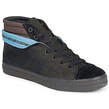 Sapatos Homem Sapatilhas de cano-alto Bikkembergs PLUS MID SUEDE Preto