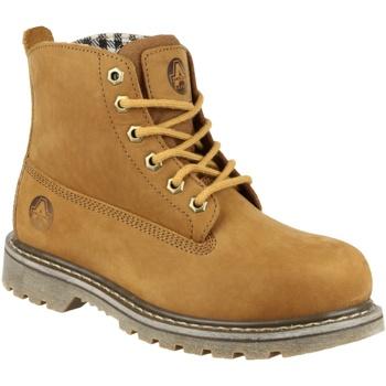 Sapatos Mulher Botas baixas Amblers FS103 Tabaco