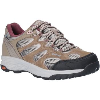 Sapatos Mulher Sapatos de caminhada Hi-Tec  Taupe/Cinza Quente/Vinho de Uva