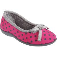 Sapatos Mulher Chinelos Sleepers Polka Pink