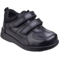 Sapatos Rapaz Sapatilhas Hush puppies  Preto