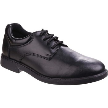 Sapatos Rapaz Sapatos Hush puppies  Preto