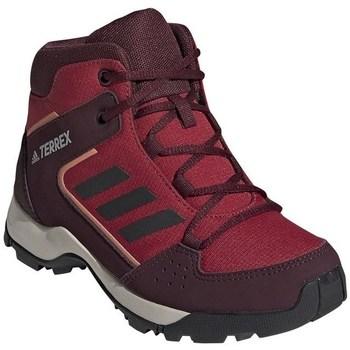 Sapatos Criança Sapatos de caminhada adidas Originals Hyperhiker K Bordô,Vermelho