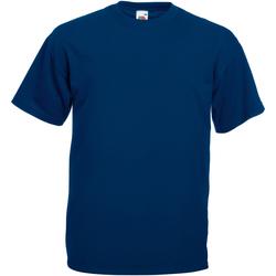 Textil Homem T-Shirt mangas curtas Universal Textiles 61036 Marinha de Oxford