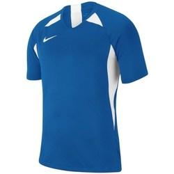 Textil Rapaz T-Shirt mangas curtas Nike JR Legend Branco, Azul