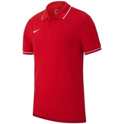 Textil Homem Polos mangas curta Nike Team Club 19 Vermelho