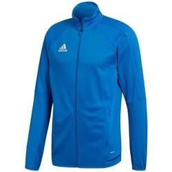 Textil Homem Casacos fato de treino adidas Originals Tiro 17 Azul