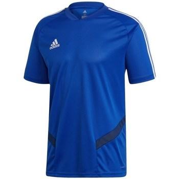 Textil Homem T-Shirt mangas curtas adidas Originals Tiro 19 Training Azul