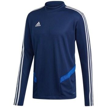 Textil Homem T-shirt mangas compridas adidas Originals Tiro 19 Training Azul marinho