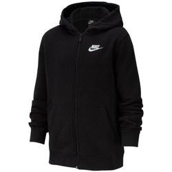 Textil Rapaz Sweats Nike JR Nsw Hoodie Club Preto