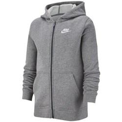 Textil Rapaz Sweats Nike JR Nsw Hoodie Club Cinzento