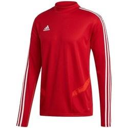 Textil Homem T-shirt mangas compridas adidas Originals Tiro 19 Training Top Vermelho