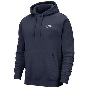 Textil Homem Sweats Nike Club Hoodie PO BB Azul marinho