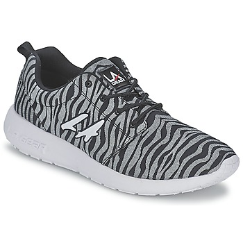 Sapatos Mulher Sapatilhas L.A. Gear SUNRISE Cinza / Preto