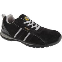 Sapatos Homem Sapatilhas Grafters  Preto/Cinza
