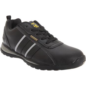 Sapatos Homem Sapatilhas Grafters  Ação Preto/Cinza
