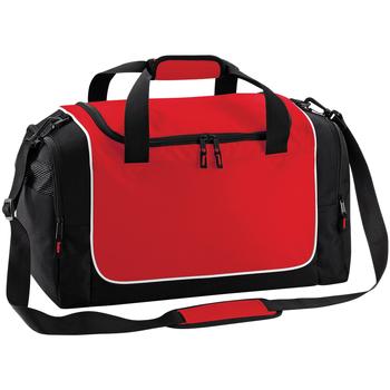 Malas Saco de desporto Quadra QS77 Clássico vermelho/preto/branco